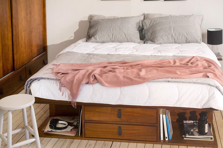 ▷ Bett mit Stauraum • Vergleiche // Angebote // FAQ